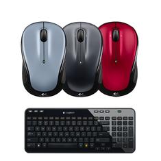 picture of Logitech K360 Wireless Keyboard & M325 Mouse Sale