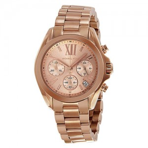 picture of Michael Kors Bradshaw Rose Gold Watch Sale