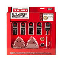 picture of Craftsman 58 piece Multi Tool Accessory Kit