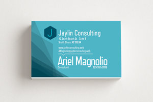 Vistaprint custom business card
