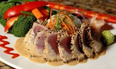 Bonefish grill seared ahi tuna