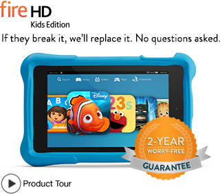 Kindle Fire HD Kids Tablet Sale