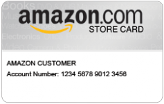New Amazon.com Store Card