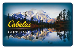 $50 Cabela's Gift Card For $40