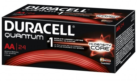 24 Pack Duracell Quantum AA Battery Sale $9.99 QU1500BKD