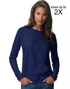 picture of Hanes ComfortSoft Women's Long Sleeve T-Shirt Sale