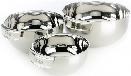 picture of All-Clad Stainless Steel 3 Piece Mixing Bowl Set Sale