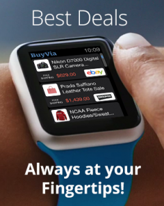 BuyVia on the Apple Watch