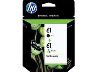 HP 61 Black/Tri-color Original Ink Cartridge Combo Pack Sale