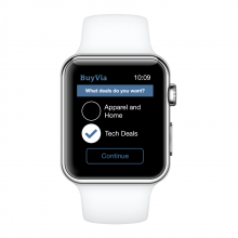 BuyVia Apple Watch Express Preferences