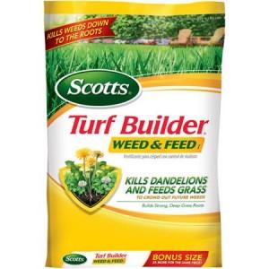 Scotts Turf Builder Weed & Feed Sale