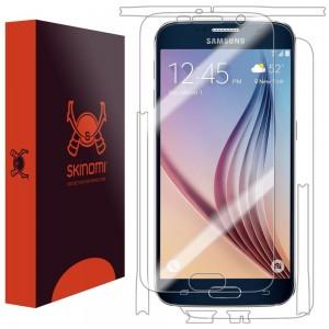 picture of Skinomi TechSkin Galaxy S6 Screen Protector + Full Body Skin Protector Sale