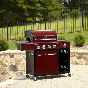 picture of Kenmore 4-Burner Gas Grill Sale