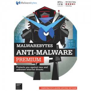 picture of Malwarebytes Anti-Malware Premium 1-Year Sale