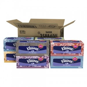 picture of 8-pk Kleenex Ultra Soft Tissues Sale