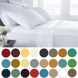 picture of 1800 Count Deep Pocket 6 Piece Bed Sheet Set Sale
