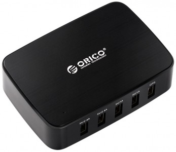 picture of ORICO 40 Watt 5-Port Charger w/OTG Access Sale