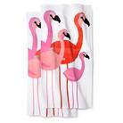 Flamingo 2 pack beach towels