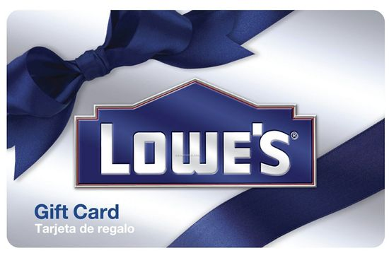 $115 Lowe's Gift Card for $100 by Email $100.00  Free Shipping from eBay