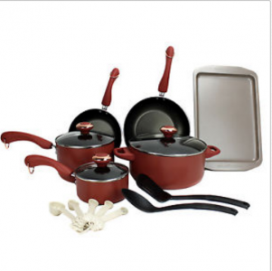 picture of Paula Deen Stainless Steel 15-pc. Cookware Set Sale