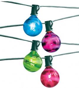 Room Essentials 10 jewel tone lights