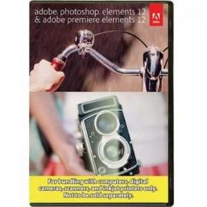 Adobe Photoshop & Premiere Elements 12 Software Sale