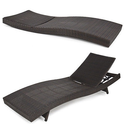 Wicker Chaise Lounge Chair Sale $159.99 - BuyVia