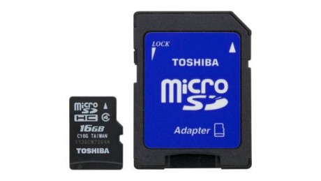 picture of Toshiba 32GB SDHC Class 10 Micro SD Card Sale