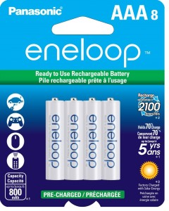 Panasonic Eneloop 8 Pack AAA Ni-MH Rechargeable Batteries Sale