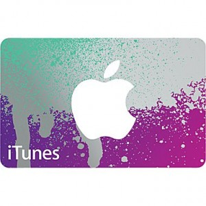 picture of $50 iTunes Card 20% Off Sale