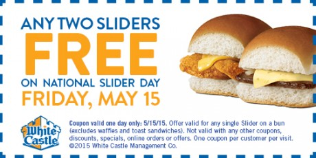 picture of White Castle 2 Free Sliders Day