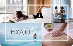 $200 Hyatt Hotels Gift Card For $175