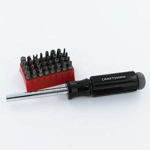 Craftsman 33 piece screwdriver sale