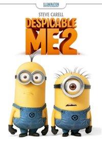 Despicable me 2 dvd