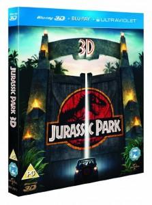 Jurassic Park Blu-ray 3d sale