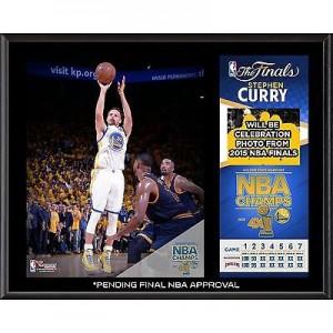Steph Curry Finals Plaque