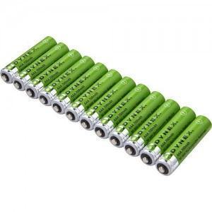 picture of Dynex Rechargeable AAA Batteries 12-Pack Sale