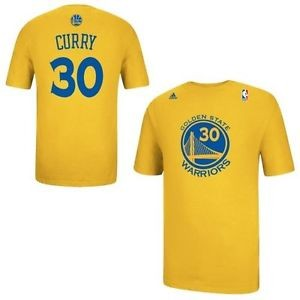 picture of Steph Curry adidas Gold Net T-Shirt Sale