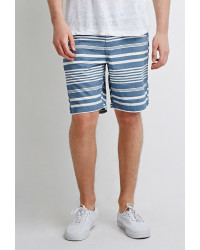 21men-bluewhite-mixed-stripe-shorts-blue-product-2-817792587-normal
