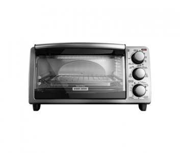 Black & Decker 4 Slice Stainless Steel Toaster Oven Sale
