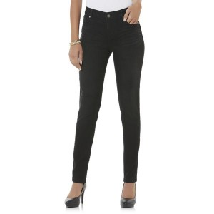 Canyon River Blues Women's Deconstructed Colored Straight Leg Jeans