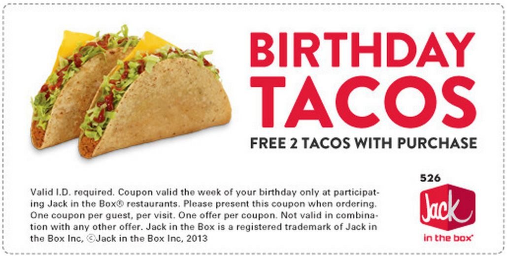 Jack and the box coupons