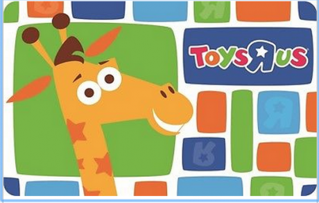 Toys r us discounted gift card