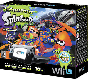Wii u Splatoon Bundles