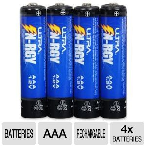Free Ultra AAA Rechargeable Battery