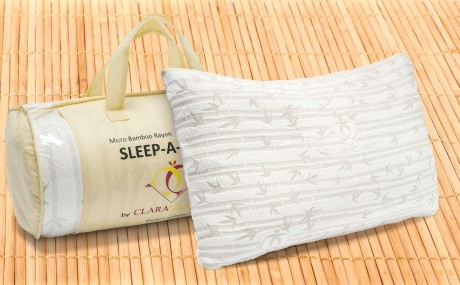 Memory Foam Luxurious Bamboo Gel Pillow by Clara Clark Sale