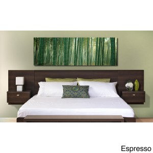 Valhalla Floating King Headboard with Integrated Nightstands Sale