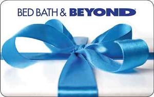 $100 Bed Bath and Beyond Gift Card for $90