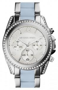 picture of Michael Kors 'Blair' Crystal Bezel Two-Tone Bracelet Watch