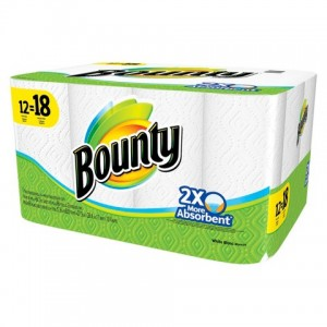 picture of 24-Pack Bounty Paper Towel Sale - Free $5 Target Cart